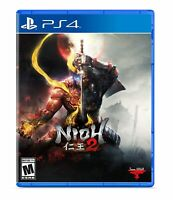 Nioh 2 PS4 Playstation 4 Brand New Sealed