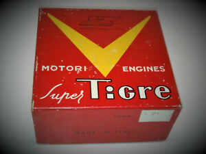 VINTAGE SUPERTIGRE G71 2-STROKE RC MODEL AIRPLANE ENGINE  NIB !