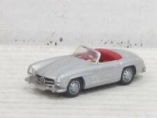 Mercedes-Benz 300 SL Roadster in silber, ohne OVP, Schuco, 1:87