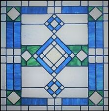 VICTORIAN STATIC WINDOW CLING STAINED GLASS EFFECT DOOR GLASS DECORATION DECAL