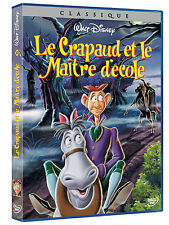 """DVD  """"LE CRAPAUD ET LE MAÎTRE D'ÉCOLE""""  Disney  N  13   NEUF SOUS BLISTER"""