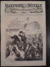 General George B McClellan Frederick Maryland Civil War Harper's Weekly 1862