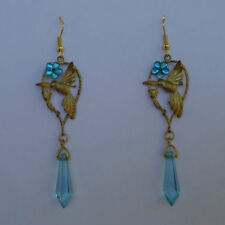 Unbranded Brass Turquoise Costume Earrings