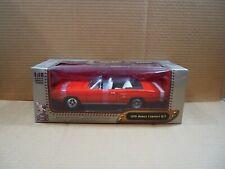Road Signature 1970 Dodge Coronet R/T Convertible Red 1:18