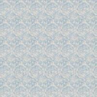 Puppenhaus Miniatur Komplizierte altes blau Muster Tapete