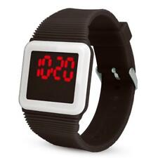 Electronic Digital LED Silicone Watches Wrist Watch Bracelet For Children Kid