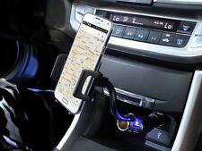 Car Holder for Samsung Galaxy S7 Edge Cell Phone Cradle Cigarette Plug USB Dock