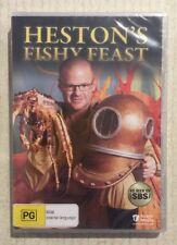 HESTON'S FISHY FEAST (DVD R4 2011) NEW Cooking Food Culinary Genius Celebrities