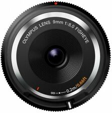 Olympus for Micro 4/3 Camera Fisheye Body Lens Cap 9mm F8 Black