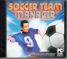 Soccer Team Manager (PC-CD, 2006) for Windows 98/ME/XP/Vista/7 - NEW Jewel Case