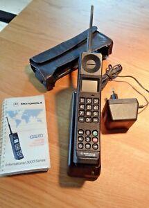 Motorola International 3000, Mobiltelefon, Vintage