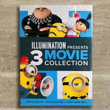 Illumination Presents: 3-Movie Collection Despicable Me 1 2 3 1-3 (3-Discs, Dvd)