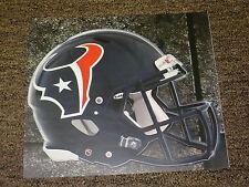 "HOUSTON TEXANS HELMET NFL Fathead Wall Graphics 11"" x 9""  (Poster/Sticker)"