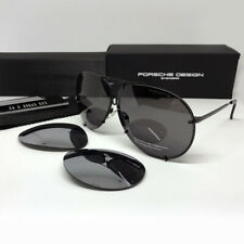 New PORSCHE DESIGN P8478 Titanium Matt Black Men Women Eyewear Sunglasses 69 MM