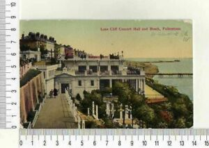 "11650) PC UK 30 Jul 1933 "" Leas Cliff Concert Hall And Beach,Folkestone """