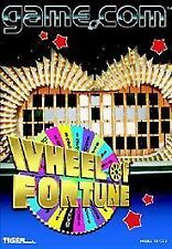 Wheel of Fortune (Game.Com, 1997) tiger Games Sealed Free Mailing