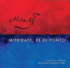 Mozart: Mitridate Re Di Ponto K87 - Barry Banks Miah Persson Sophie Be (NEW 4CD)