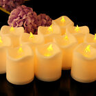 24pcs Votive LED Tea Light Flickering Flameless Candles Battery Operated Party
