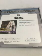 Home-Studio Series Accompaniment CD-Dara Maclean