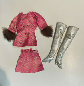 GOLDEN GROOVE SET #1593  Barbie 1969  SEARS EXCLUSIVE ORIGINAL MOD VINTAGE