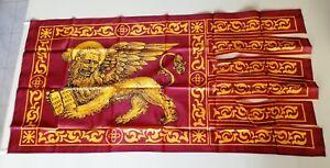 Bandiera Veneta di San Marco del '700 dim. 150x80 Veneto Venezia Serenissima
