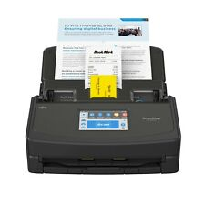 ScanSnap iX1500 Black Document Scanner A4 ADF Double Sided WiFi USB