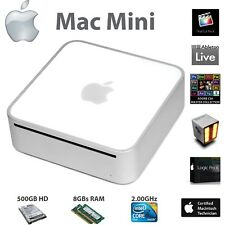 Apple Mac Mini 3.1 | El Cap | 8GB RAM | 500GB HD | Adobe CS6 | Logic Pro | FCP |