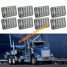 8X LED Headlights For Kenworth T400 T800 T600 W900L W900B Classic 120/132 4 Pair