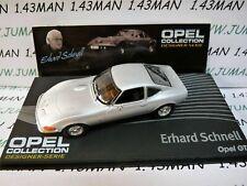 OPE121R Coche 1/43 Ixo Diseñador Serie Opel Colección: Gt E.Rápido
