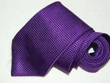 Men's Brooks Brothers Makers Purple Silk Neck tie Made in USA