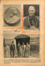 Ozanam Société de Saint-Vincent de Paul de Jean Sylvain Bailly 1913 ILLUSTRATION