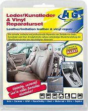 Echt Leder reparación set auto KFZ sede brand agujero piel sintética PVC pu Smart Repair