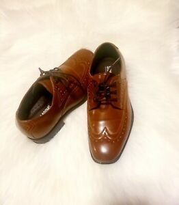 Boys Dress Shoes Stacy Adams size 1.5 EUC wedding  special occasion Easter
