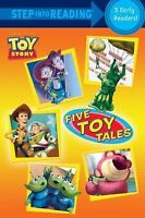 Five Toy Tales (Disney/Pixar Toy Story) (Step into Reading) by Various in Used