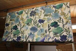 Roman Blind, John Lewis Bloom fabric. (Made to measure)