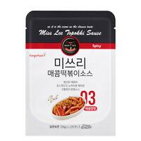 2 x US ship  MISS LEE Korean Foods Topokki  Stir-fried Rice Cake Sauce, Spicy