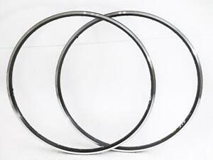 2 QTY Mavic 700c A 319 36 Hole 36H Rim Hybrid CX Bike Wheel Rim Black NEW