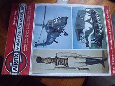 $$ Revue Airflix magazine January 1978 Rifle Brigade c 1833  Bugatti 35B  F-15