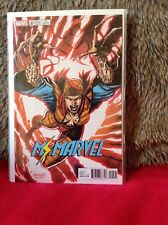 MS MARVEL # 20 JIM LEE CARD X-MEN VARIANT  MARVEL COMICS