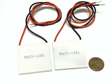 2 Pieces TEC1-12706 Heatsink Thermoelectric Cooler Cooling Peltier 12V 60W B5