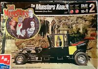 AMT ERTL THE MUNSTERS KOACCH BY GEORGE BASSIS  1:25 SCALE