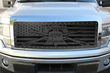 Custom Steel Grille LIBERTY OR DEATH for 2009-2012 Ford F-150 LARIAT KING RANCH
