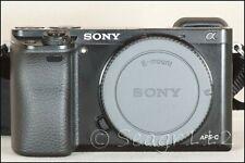 Sony Alpha A6000 24.3MP Digital Camera - Black (Body Only) Low Clicks w/ Box