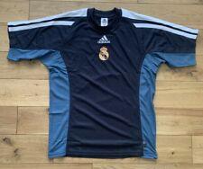 Adidas Hombre Vintage Real Madrid Entrenamiento Fútbol Jersey Top Nuevo TALLA S