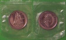 2001 Canada (P Mark) Dime Sealed in Cellophane