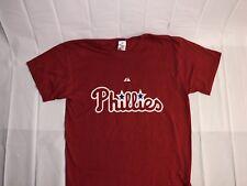MENS MLB BASEBALL PHILADELPHIA PHILLIES T-SHIRT RED PENCE #3 SIZE XL