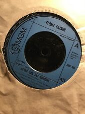 """Gloria Gaynor- Never Can Say Goodbye- We Just Cant Make It MGM Records 7"""" 1974"""