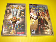 Lot Of 2 *New* Psp Games Puzzle Chronicles & Lord of the Rings