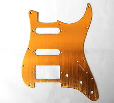 Eden Gold Aluminum Pickguard SSH for American Standard Strat Guitar