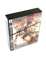 Metal Gear Solid 4 - Limited Edition (Sony PlayStation 3, 2008) Complete, TESTED